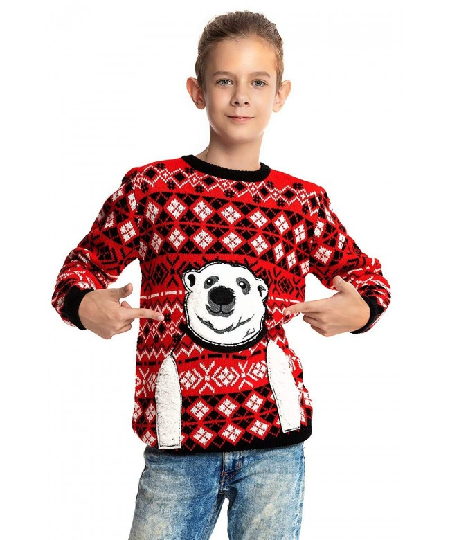 Unisex Christmas Sweater Reindeer Pullover