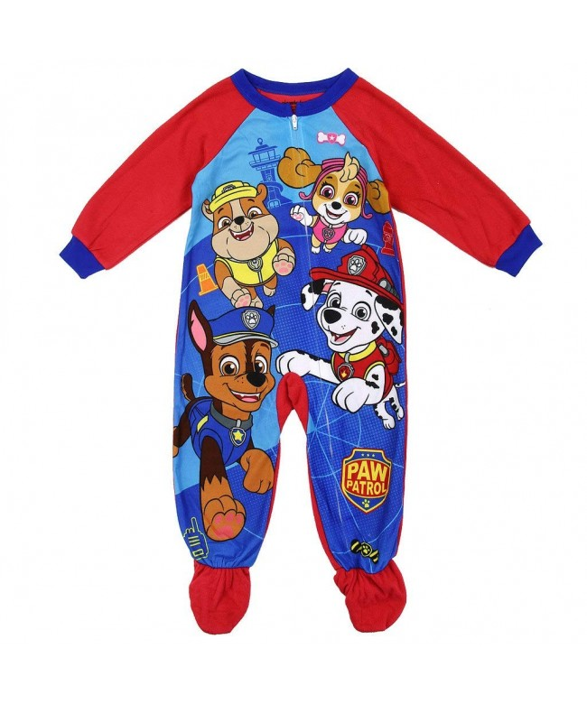 Patrol Toddler Blanket Sleeper Pajamas