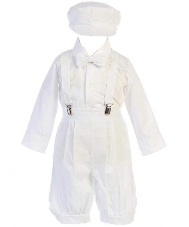 Lito Little White Suspender Knickers