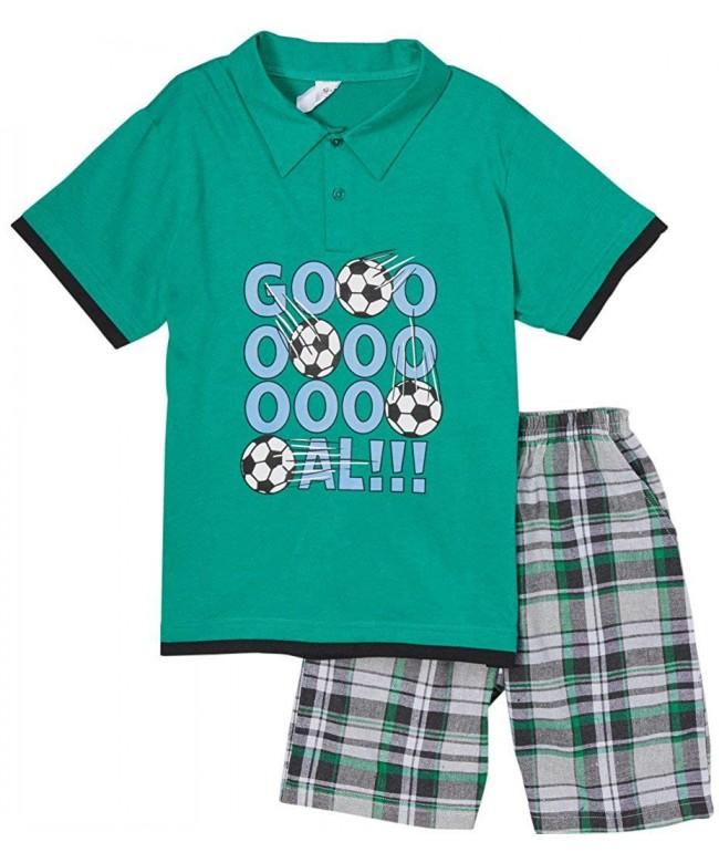 ToBeInStyle Boys Polo Shirt Shorts