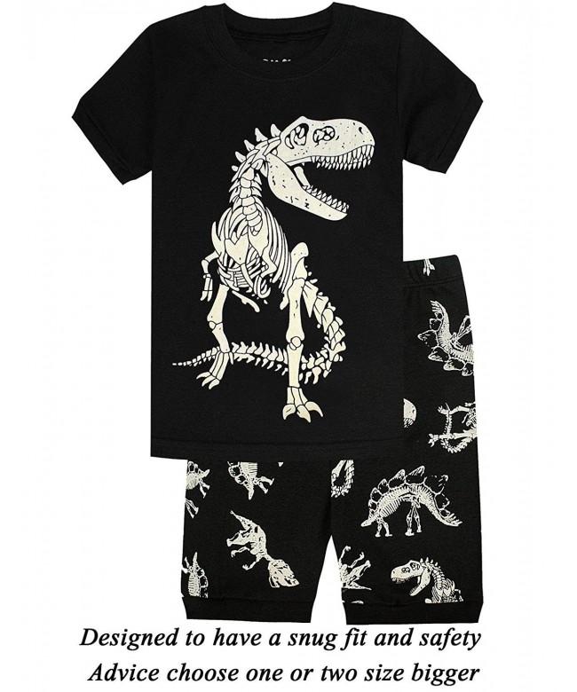 Pajamas Dinosaur Toddler Clothes Sleepwear