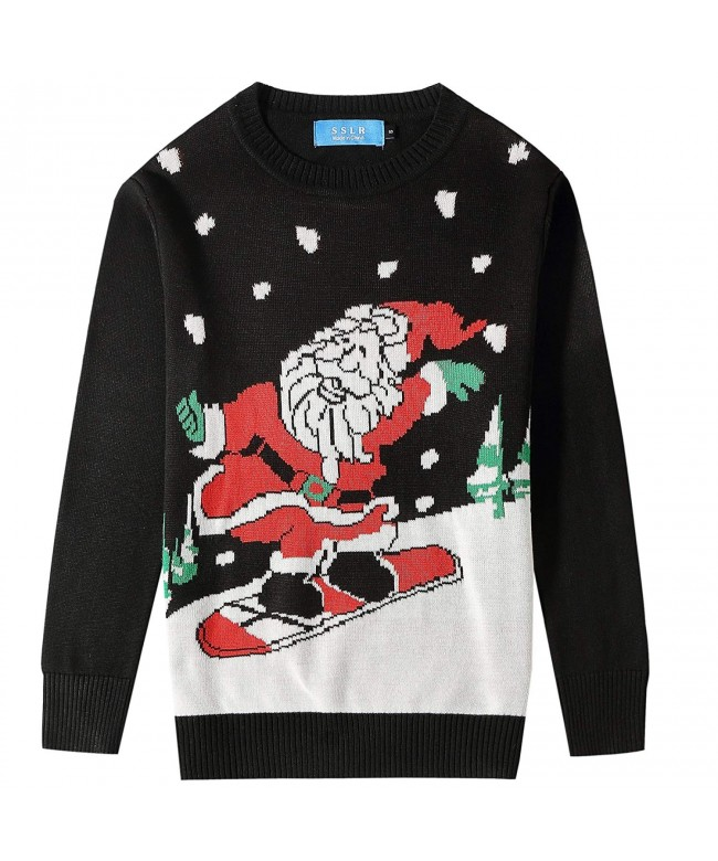 SSLR Crewneck Pullover Christmas Sweater