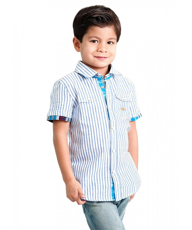 Dakomoda Linen Blend Dress Shirt
