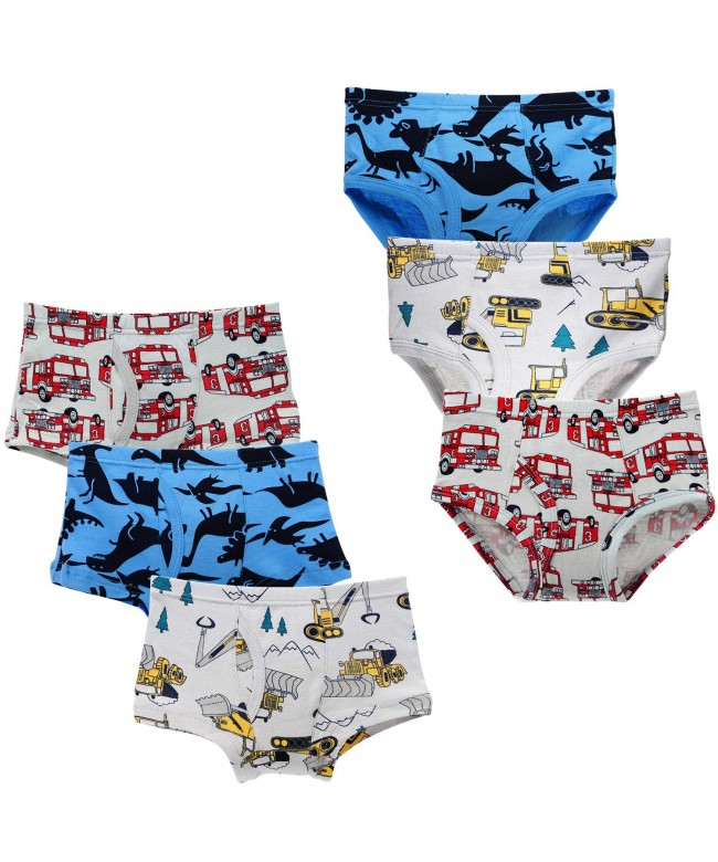 Closecret Toddler Cotton Underwear Assorted