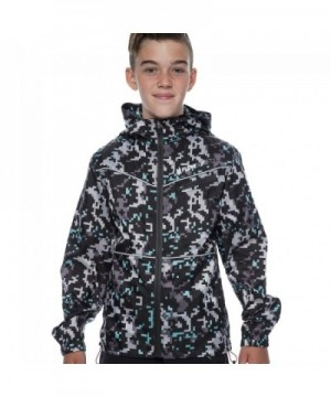 Boy's Rain Coat Benjamin - Gray - C212O7FBWWU