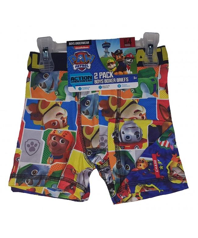Action Underwear Pack Boxer Briefs