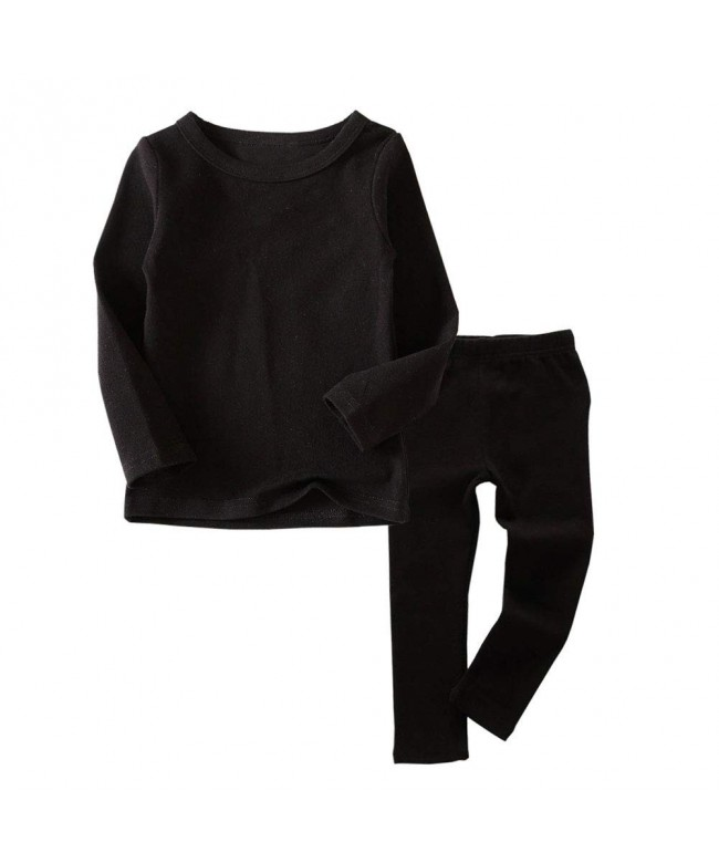 Thermal Underwear Crewneck Toddler Pajamas