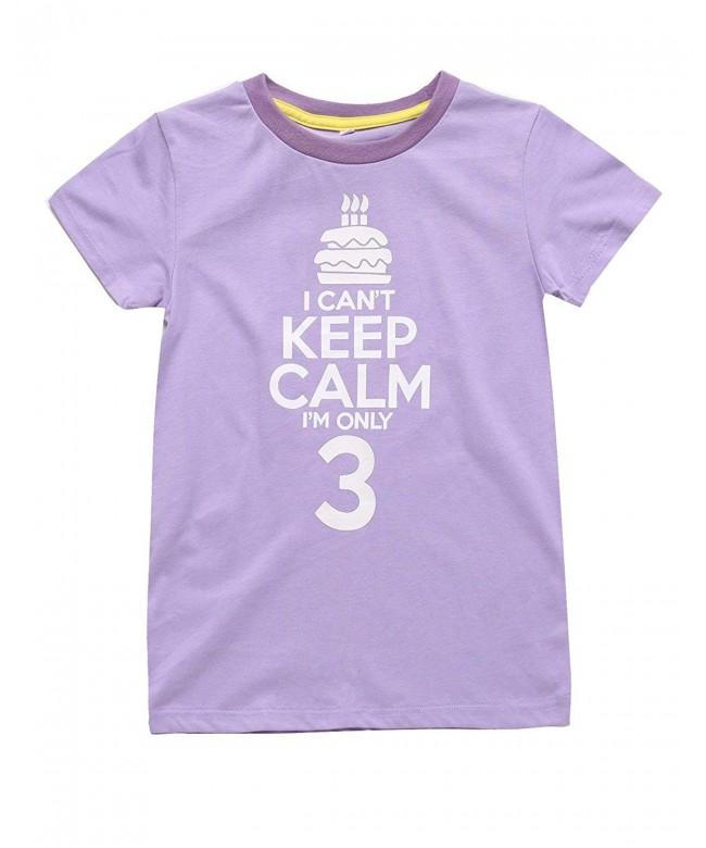 Catmama Changeable Toddler Birthday T Shirt