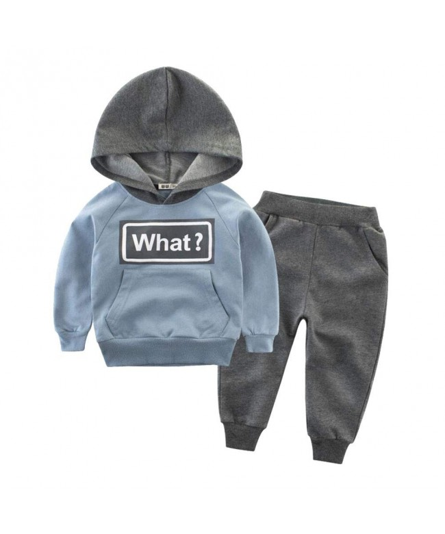 Onlyso Toddler Little Sweatshirts Tracksuits