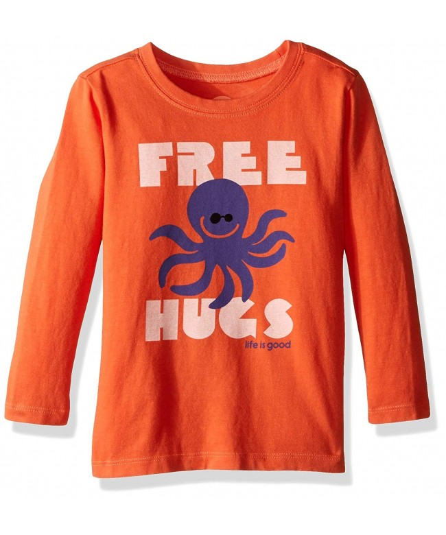 Life Good Longsleeve Toddler Octopus