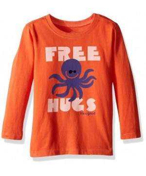 Life Good Longsleeve Toddler Octopus