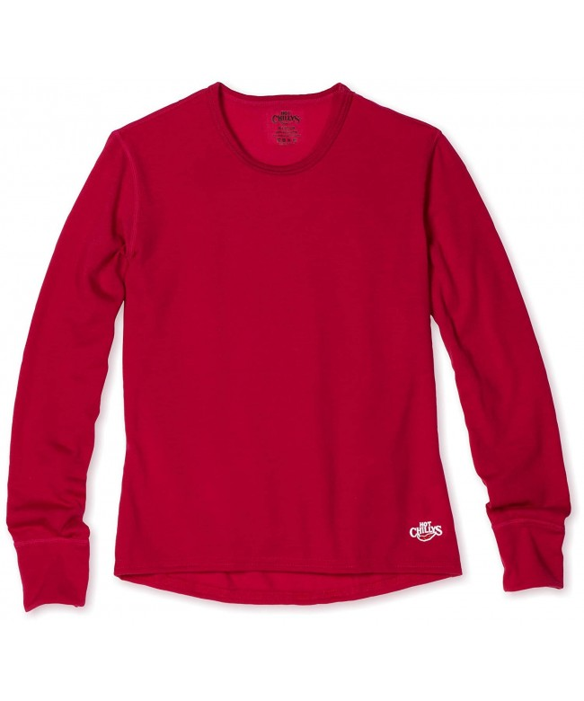 Hot Chillys Youth Midweight Crewneck