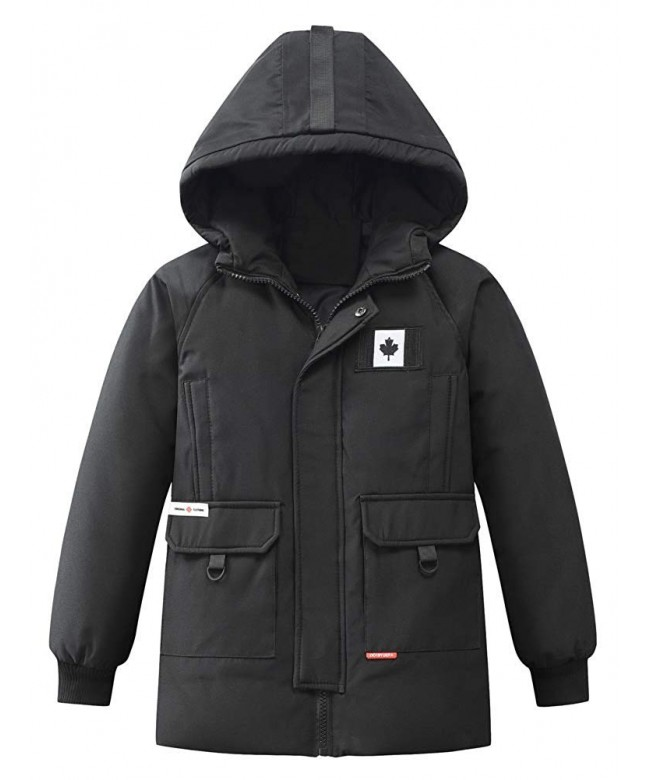 Mallimoda Winter Hooded Jacket Outwear