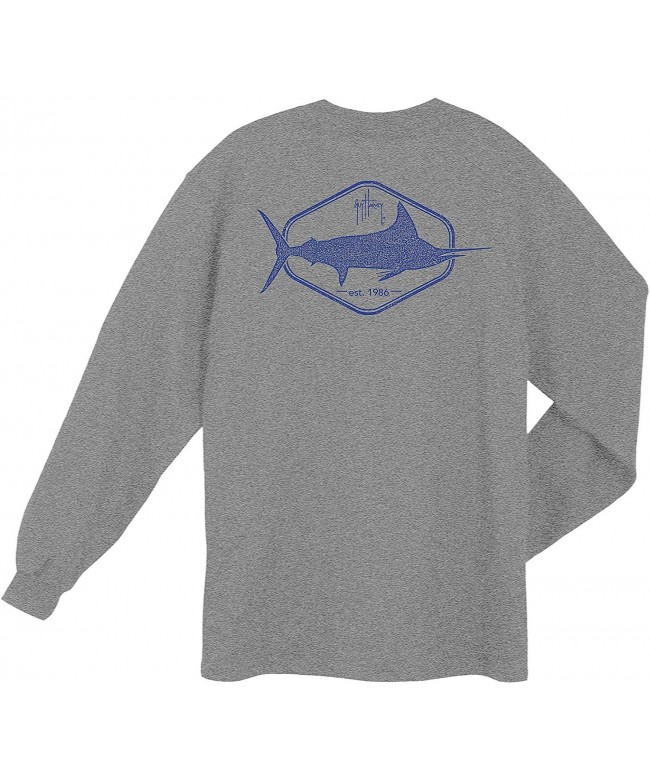 Guy Harvey Division Heather T Shirt