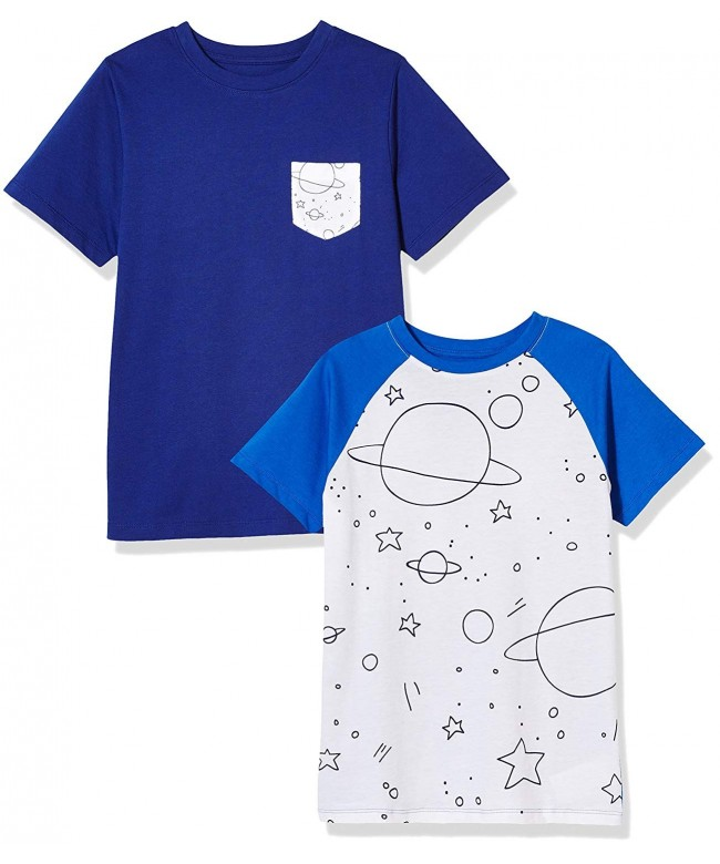 Awesome Boys 2 Pack Space Short Sleeve