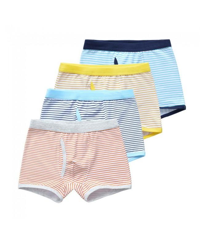 Orinery Cotton Underwear Striped Briefs