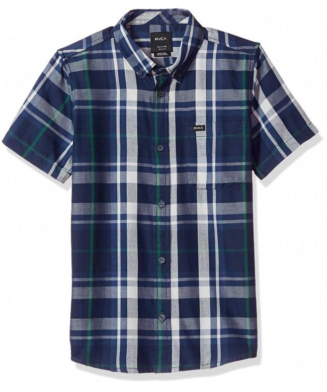 RVCA Short Sleeve Woven Shirt