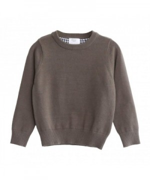 CUNYI Little Crewneck Pullover Sweater