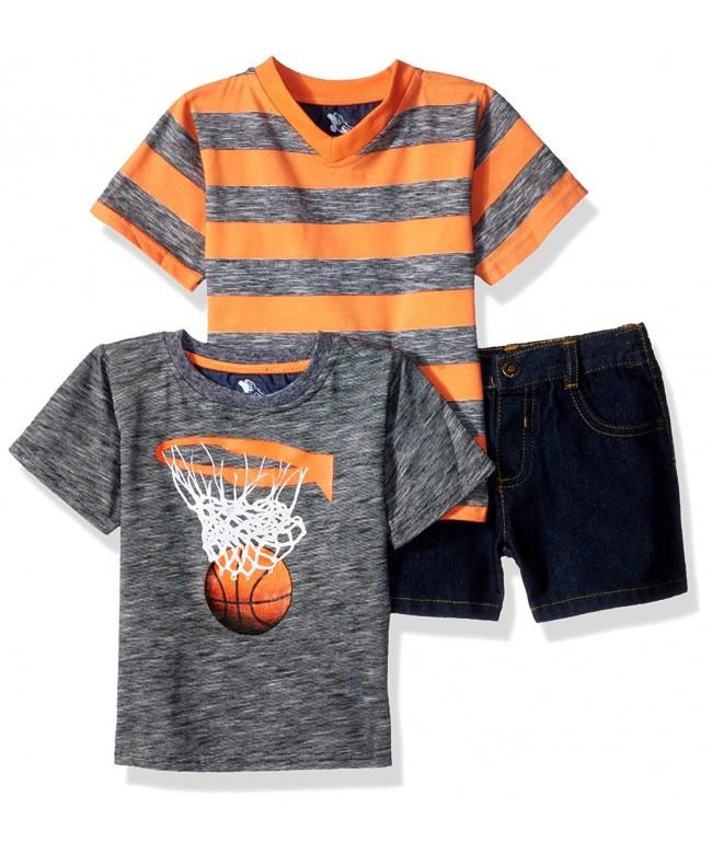American Hawk Basketball V Neck T Shirt