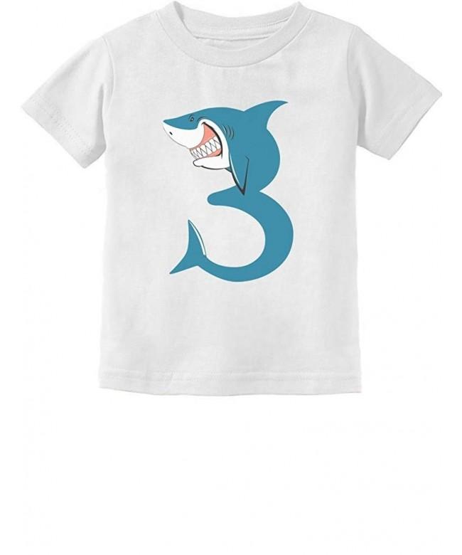 TeeStars Birthday Shark Toddler T Shirt