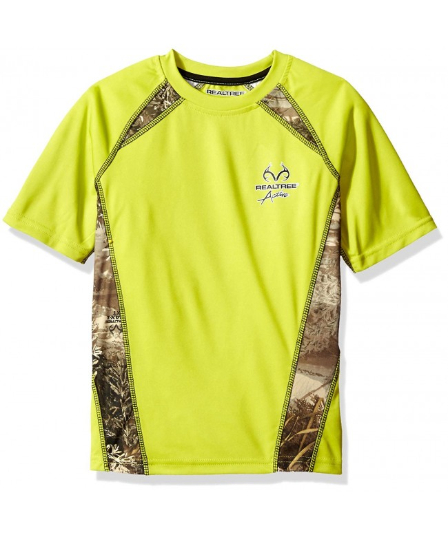 Realtree Performance Colorblock Raglan Shirt