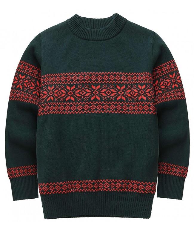 FEOYA Boys Christmas Sweater Cotton
