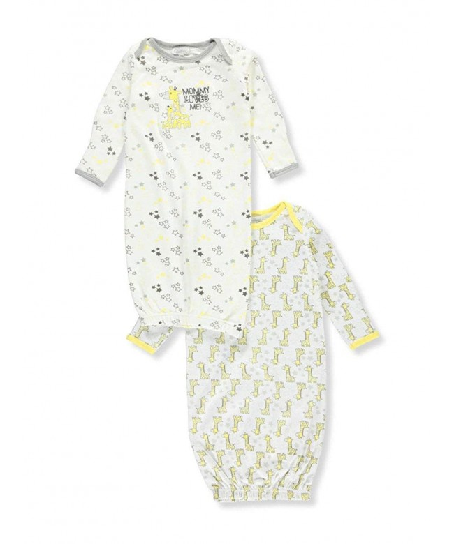 Quiltex Toddler Giraffe Sleeper Gowns