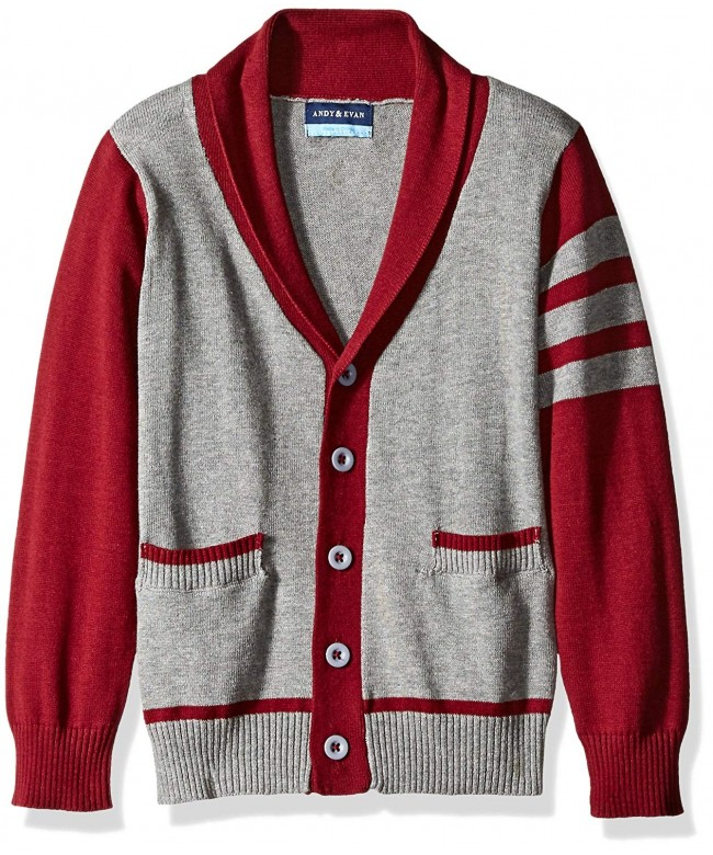 Andy Evan Varsity Cardigan Pockets