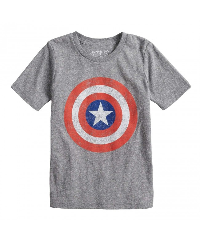 Jumping Beans Captain America Graphic