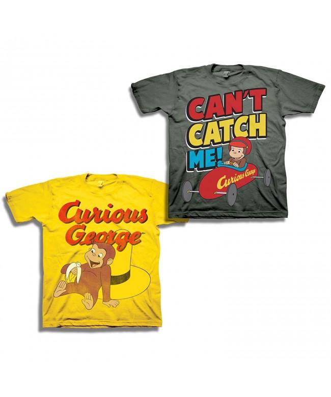 Curious George Boys Shirt Set