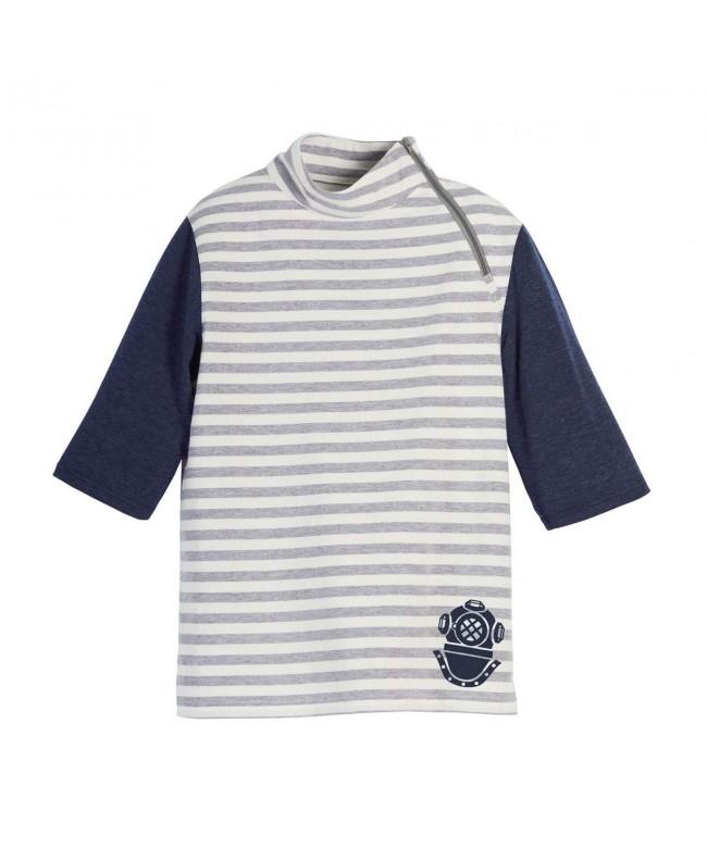 Beachcombers Boys Turtle Stripe Design