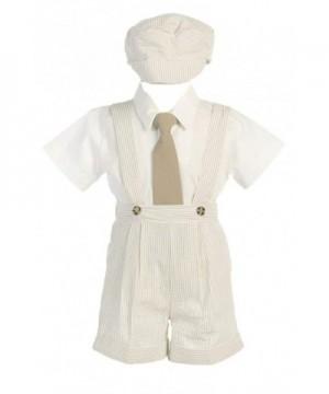 DapperLads Lito Little Seersucker Suspender