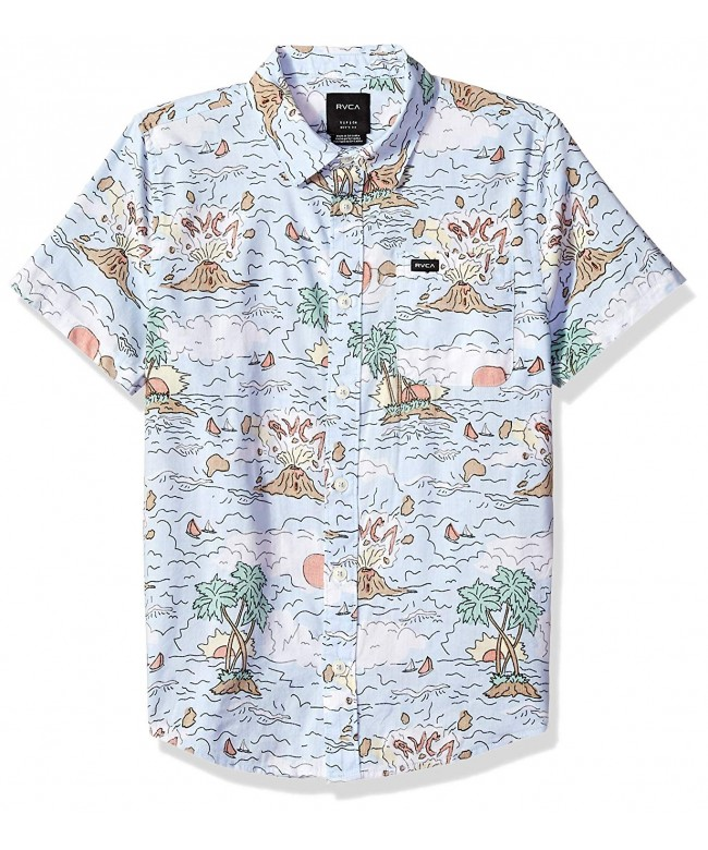 RVCA Ceddia Short Sleeve Button