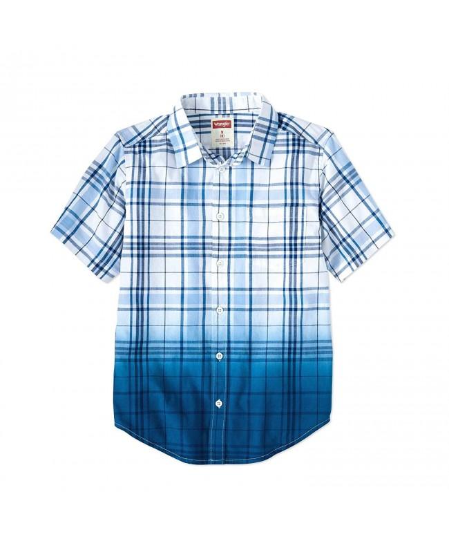 Wrangler Co Short Sleeve Button