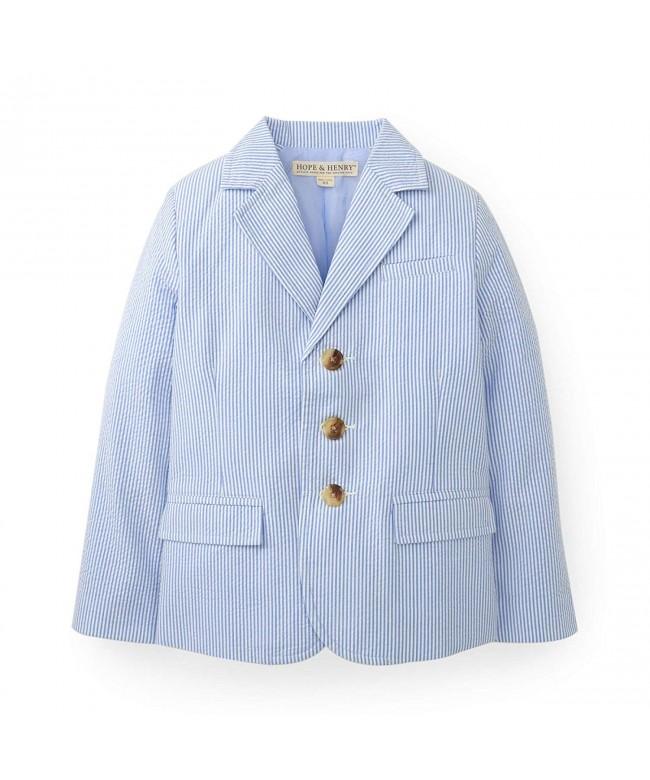 Hope Henry Seersucker Jacket Organic