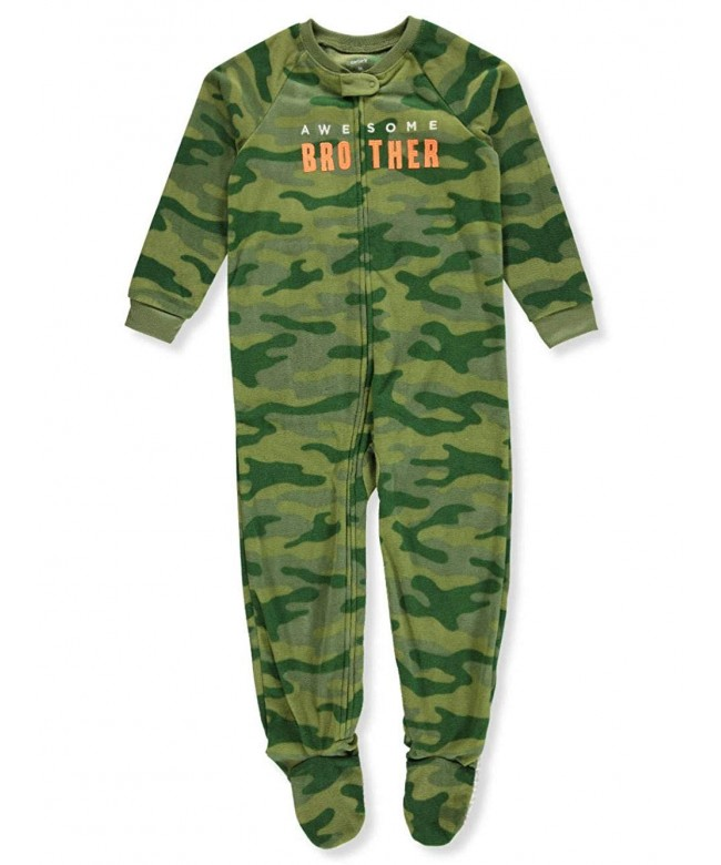 Carters Boys 12M 8 Fleece Pajamas