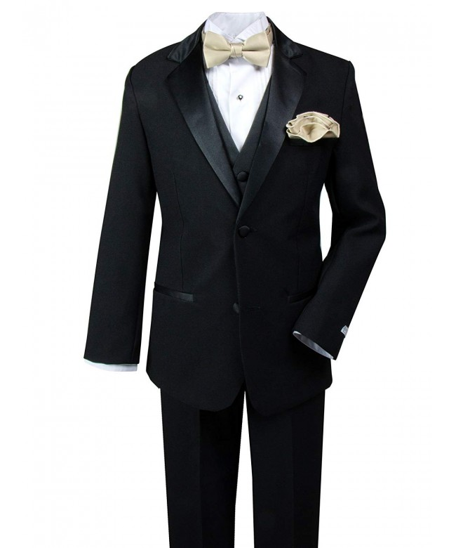 Spring Notion Boys Tuxedo Handkerchief