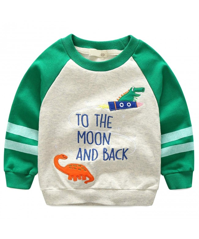 Leping Sweatshirt Toddlers Pullover Sweater