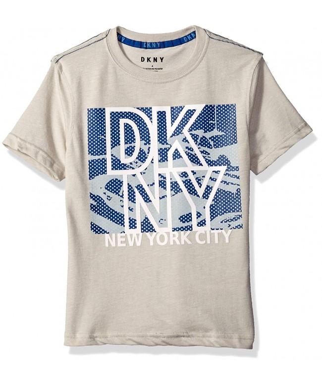 DKNY Sleeve Grindle Jersey T Shirt