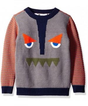 Petit Lem Boys Funny Sweater