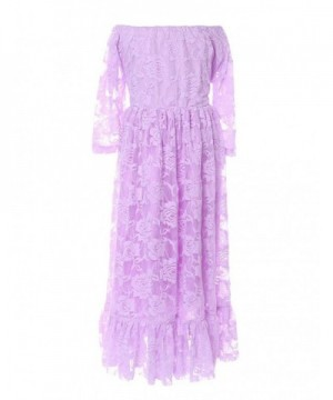Cilucu Dresses Toddlers Pageant Shoulder