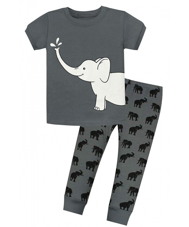 Little Elephant Pajamas Childrens Clothes
