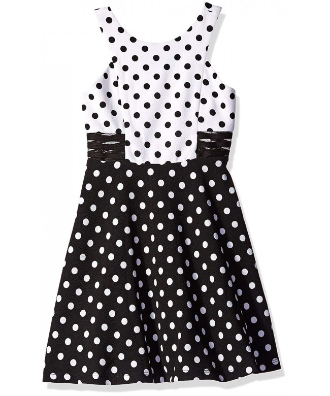 Tween Diva Girls Black White