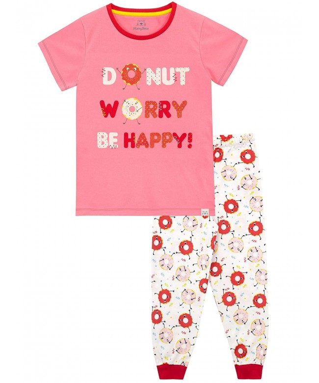 Harry Bear Girls Pajamas Donut