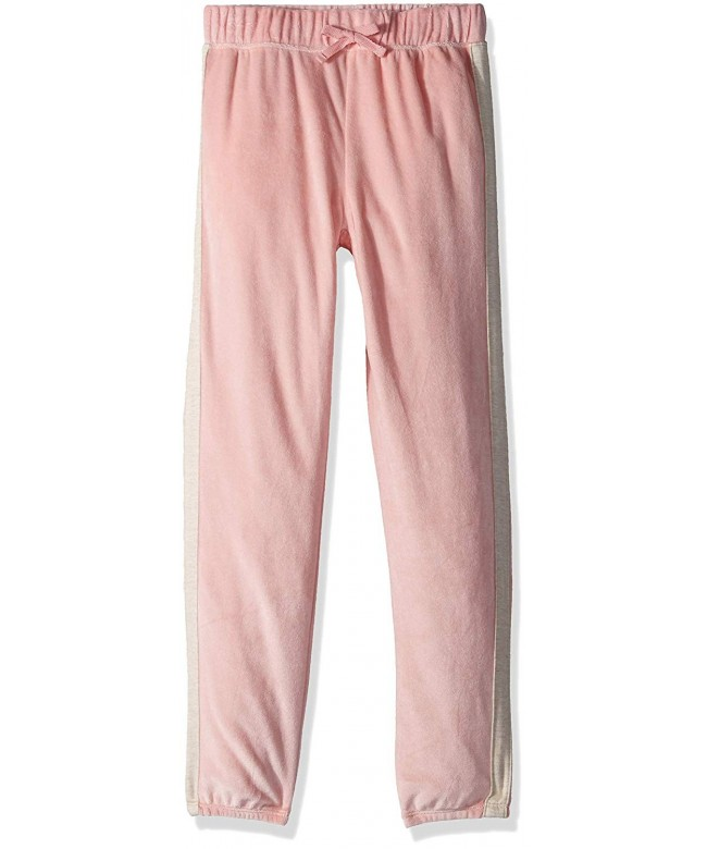 Splendid Girls Velour Trim Jogger