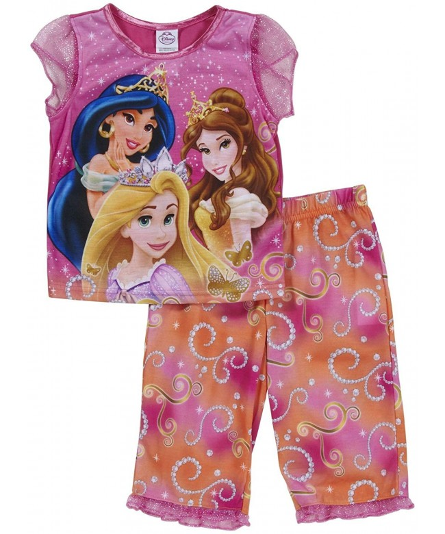 Disney Princesses Rapunzel Jasmine Pajamas