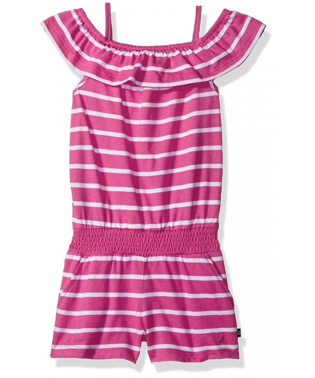 Nautica F0044Q Girls Fashion Romper