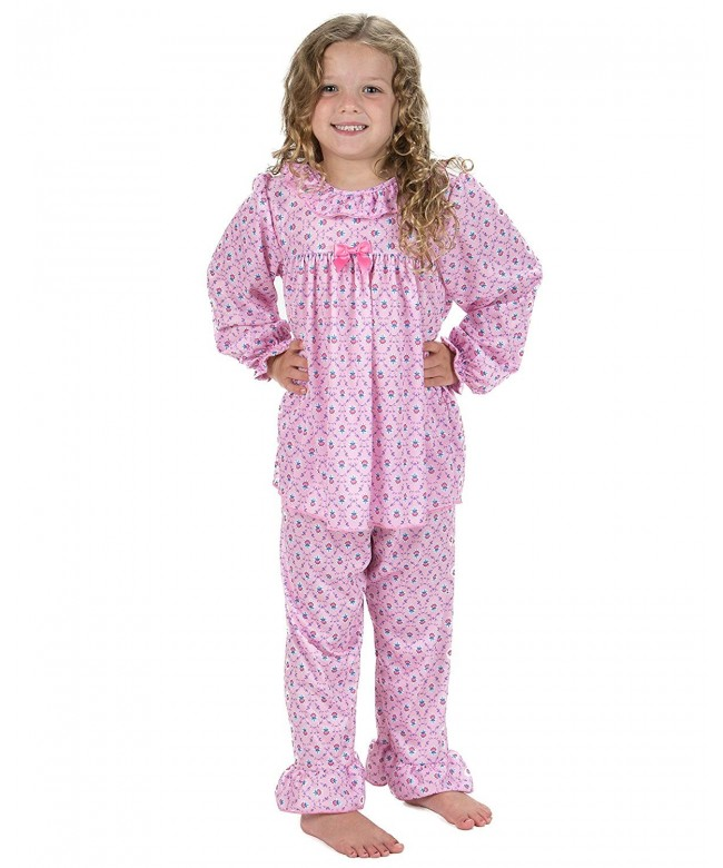 Laura Dare Little Ruffled Pajamas
