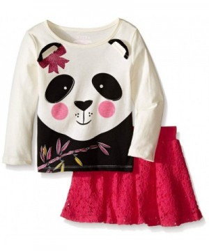 Kidtopia Girls Set Long Sleeve Panda