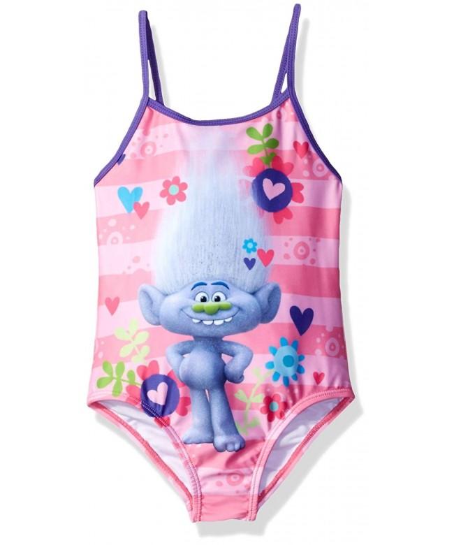 Trolls 8712256TR Big Girls Swimsuit